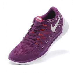 Nike free run 5.0 фиолетовый